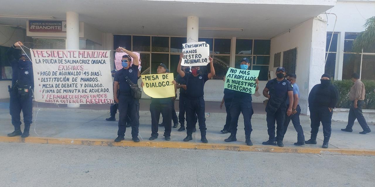 Concluye paro de la policía | El Imparcial de Oaxaca