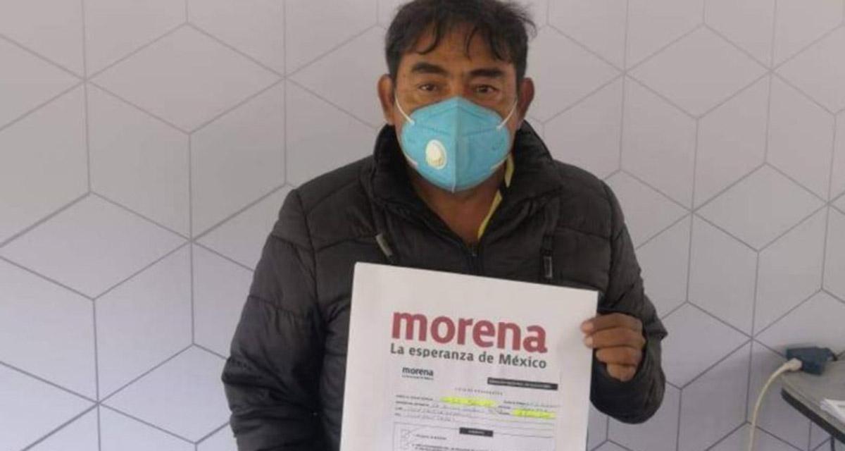 Felipe de la Cruz, vocero de los padres de los 43 normalistas va por diputación de Morena | El Imparcial de Oaxaca