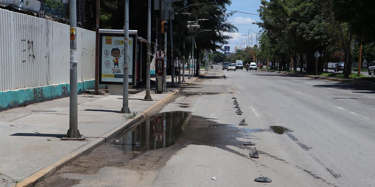 Desaparecen y mutilan ciclovías de Oaxaca | El Imparcial de Oaxaca