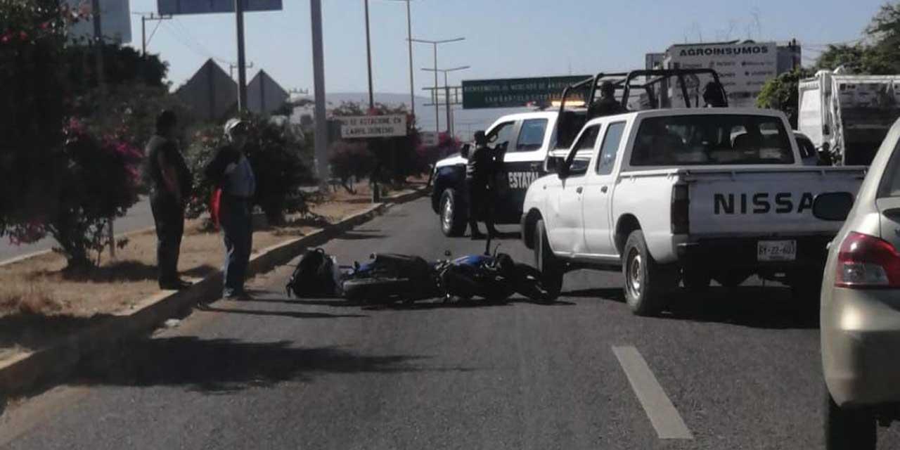 Arrollan a motociclista en Santa María Coyotepec | El Imparcial de Oaxaca