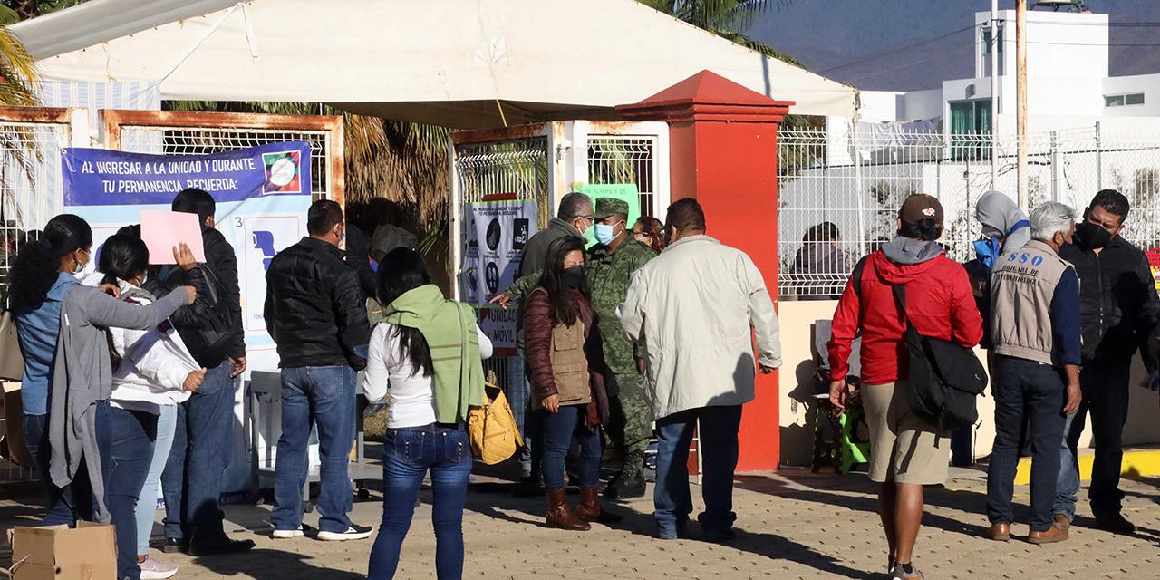 Aplican segundo lote de vacunas Covid-19 en Oaxaca | El Imparcial de Oaxaca