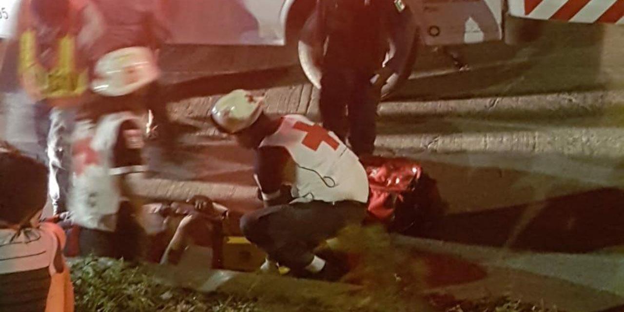 Derrapan en su motocicleta en Salina Cruz | El Imparcial de Oaxaca