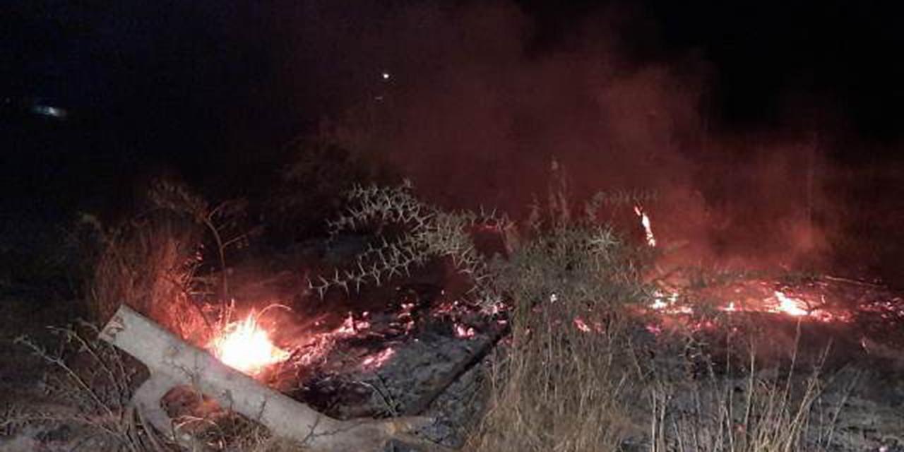 Terrenos baldíos se incendian en Huajuapan | El Imparcial de Oaxaca
