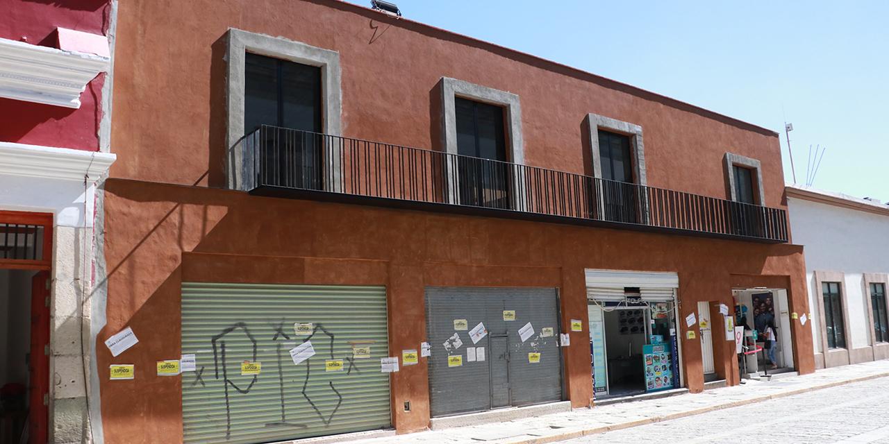 Concluyen obra irregular en el Centro Histórico | El Imparcial de Oaxaca