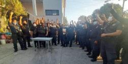 Despiden a policías tras paro de labores en Salina Cruz
