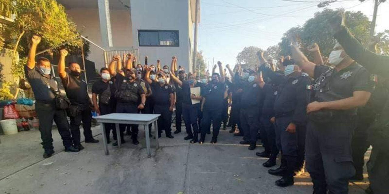 Despiden a policías tras paro de labores en Salina Cruz | El Imparcial de Oaxaca