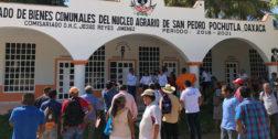 Exigen convocatoria para representantes agrarios en Pochutla