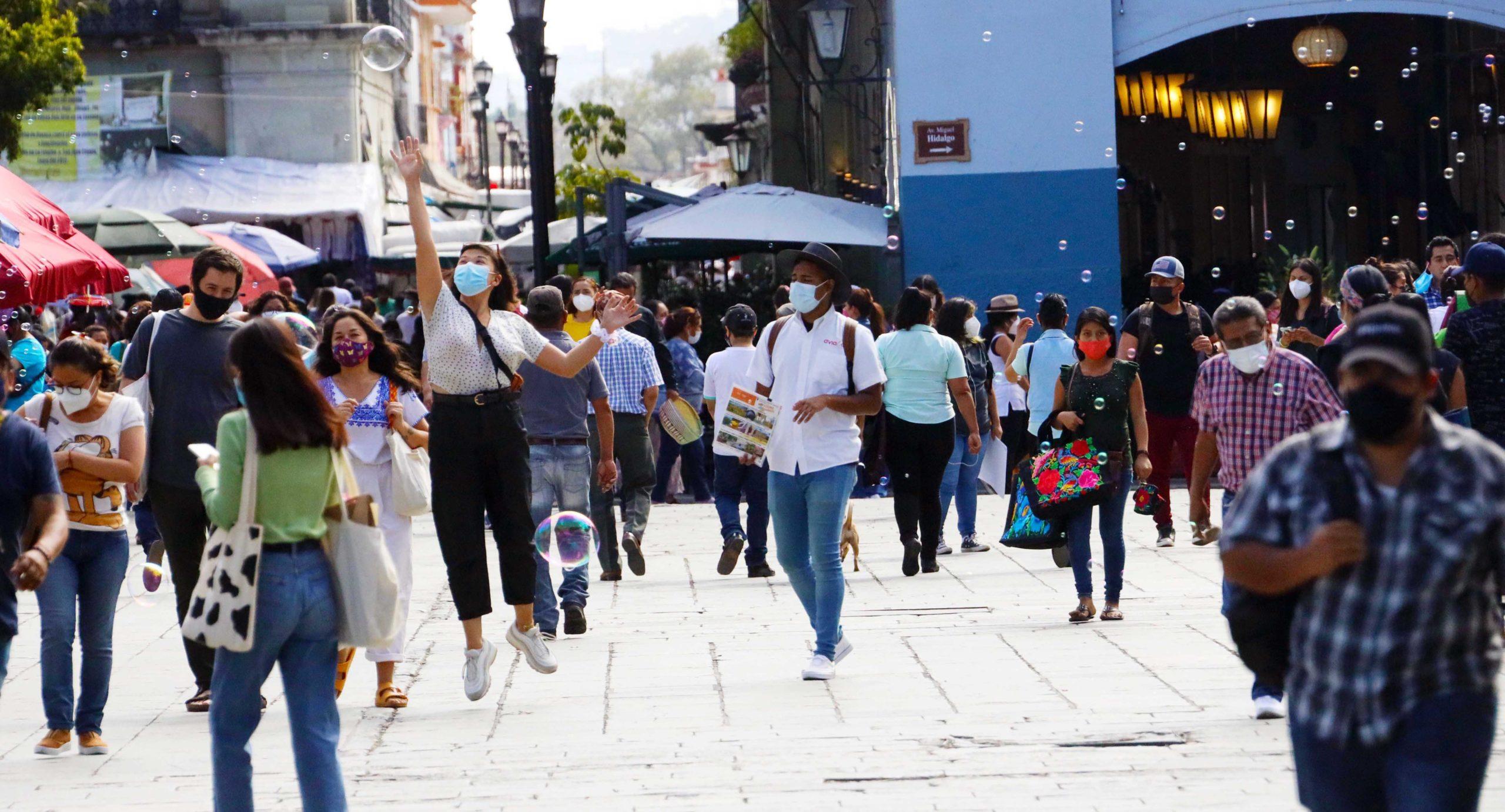 Reportan 307 nuevos positivos;  sigue Oaxaca con gran movilidad | El Imparcial de Oaxaca
