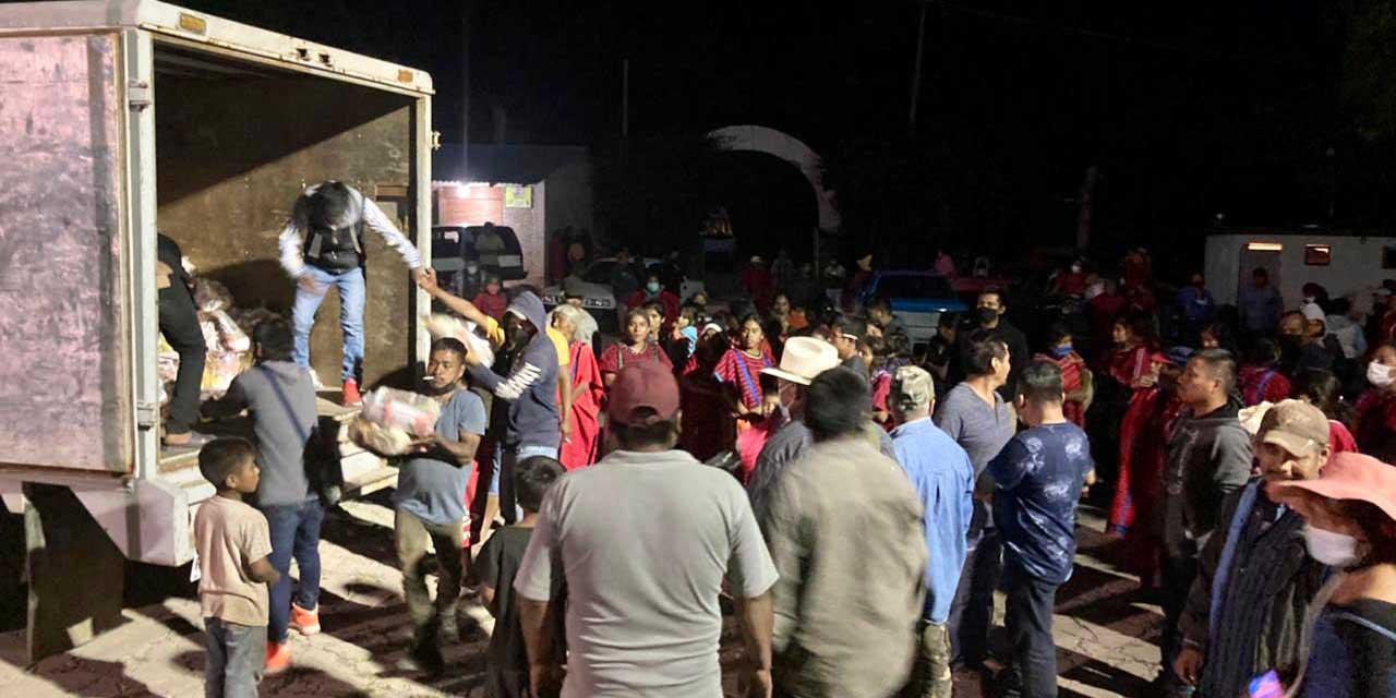 Segego y DDHPO atienden conflicto en zona Triqui | El Imparcial de Oaxaca