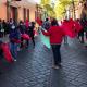 Protestan antorchistas frente a Casa Oficial