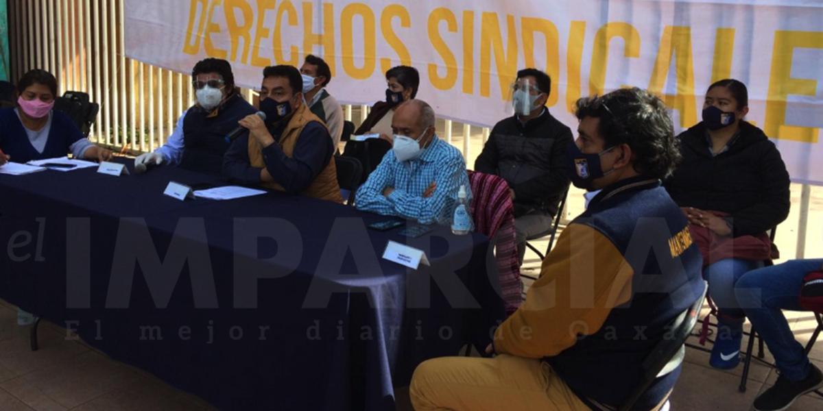 Demanda STEUABJO revisión del Contrato Colectivo de Trabajo 2021 | El Imparcial de Oaxaca