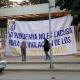 Integrantes del STEUABJO protestan en Ciudad Universitaria