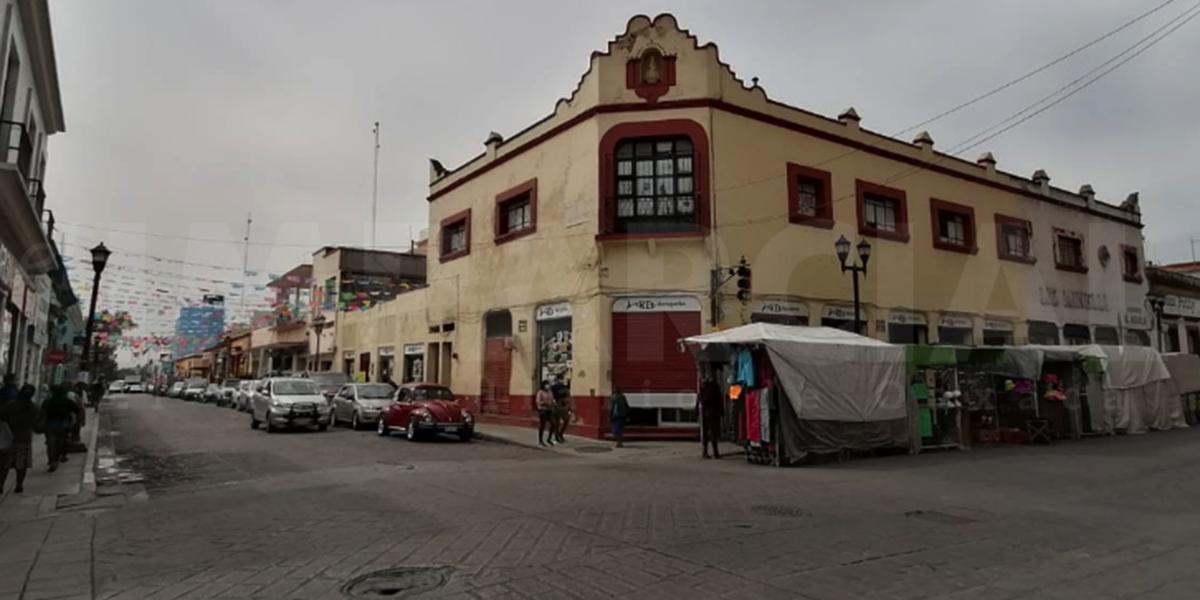 Ante aumento de contagios, se reduce presencia del comercio en la vía pública | El Imparcial de Oaxaca