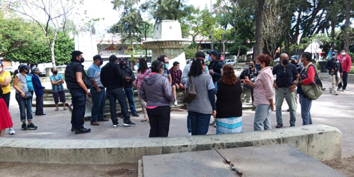 Vecinos impiden instalación de Tianguis Autogestivo, Feminista y Disidente | El Imparcial de Oaxaca