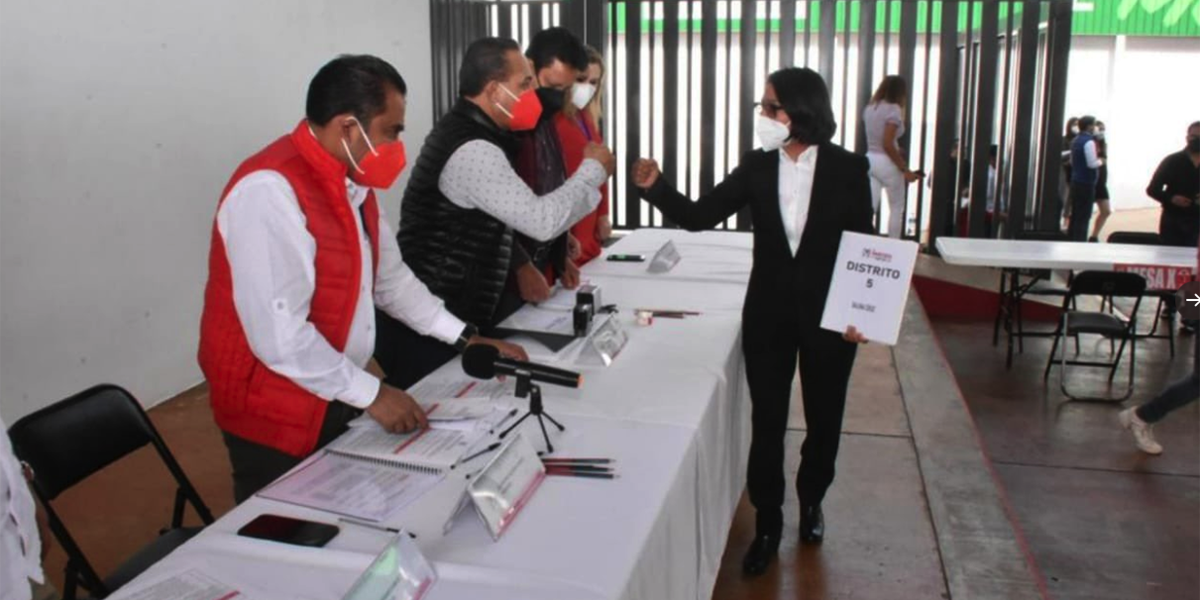 Se inscriben aspirantes a candidatura para diputados federales del PRI en Oaxaca | El Imparcial de Oaxaca