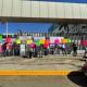 Protestan trabajadores del sector salud en el congreso local