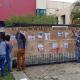 Autoridades de Santa María del Mar protestan en oficinas de CFE