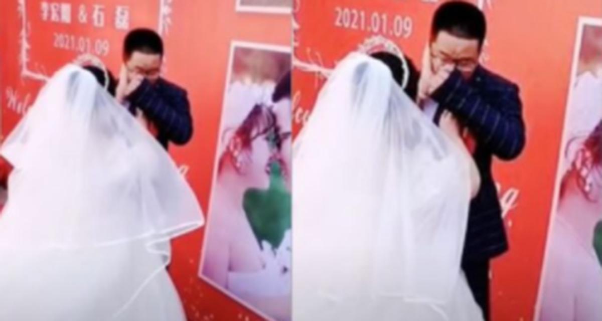 Video: Novio rompe en llanto porque nadie pudo asistir a su boda | El Imparcial de Oaxaca