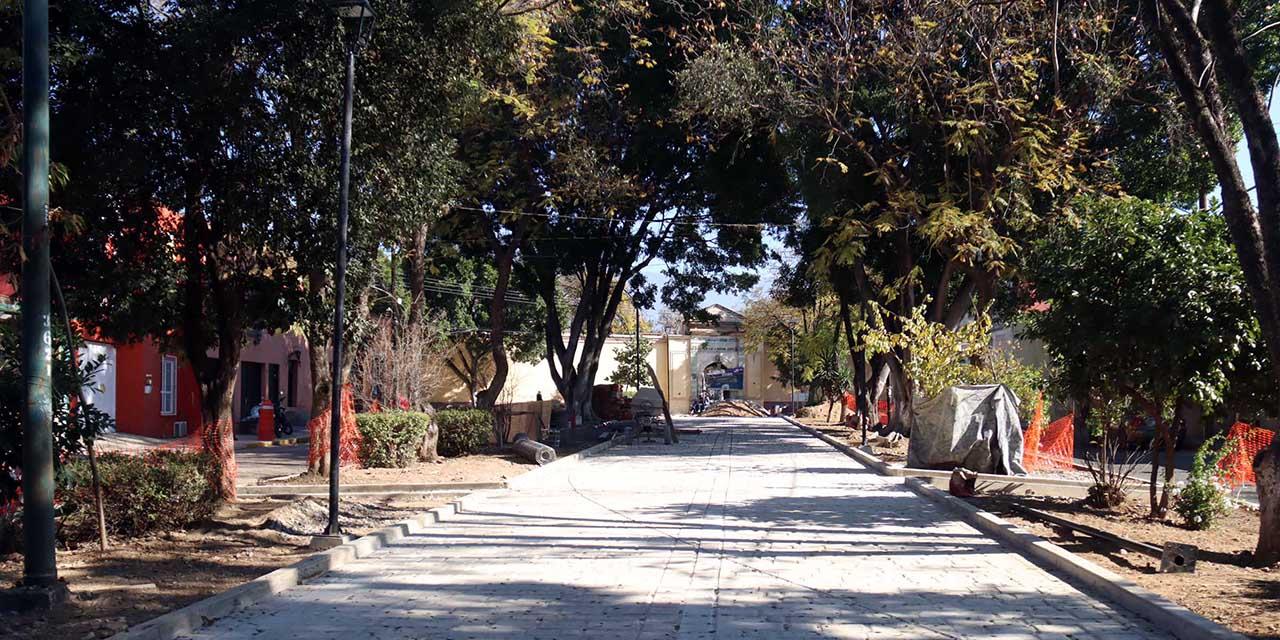 Habitantes de Jalatlaco frenan obras en la Calzada del Panteón | El Imparcial de Oaxaca