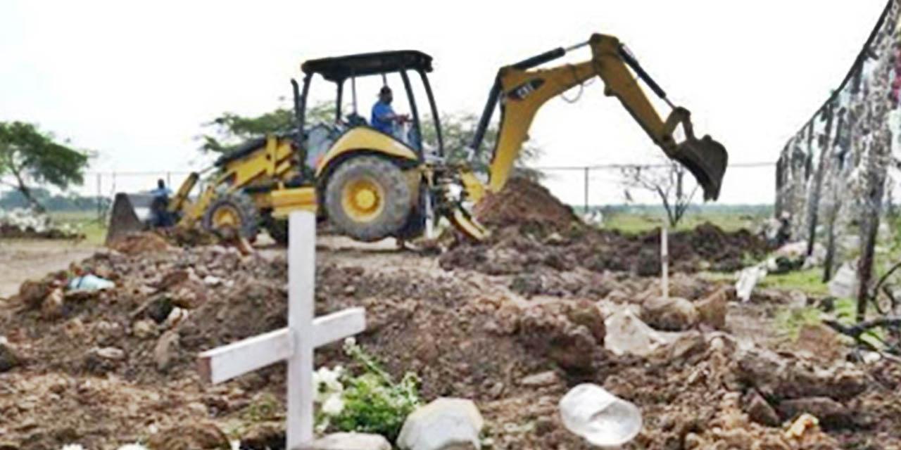 Cavan fosas en tres panteones de Juchitán | El Imparcial de Oaxaca