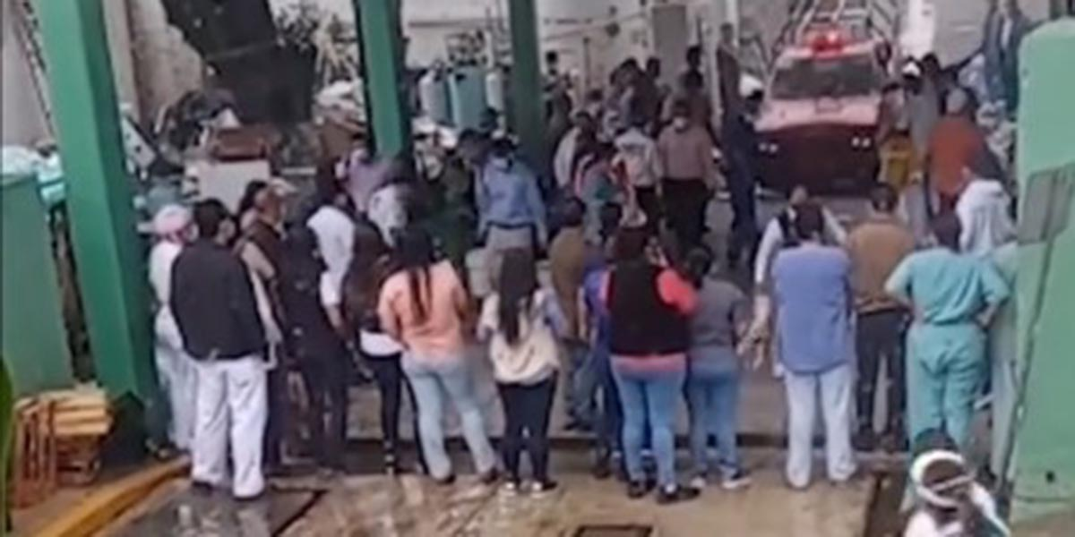 Se incendia almacén del IMSS en Tuxtepec   El Imparcial de Oaxaca