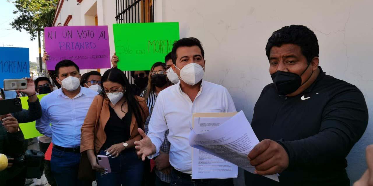 Diputados de Oaxaca intervienen denuncia de la alianza Va por Oaxaca   El Imparcial de Oaxaca