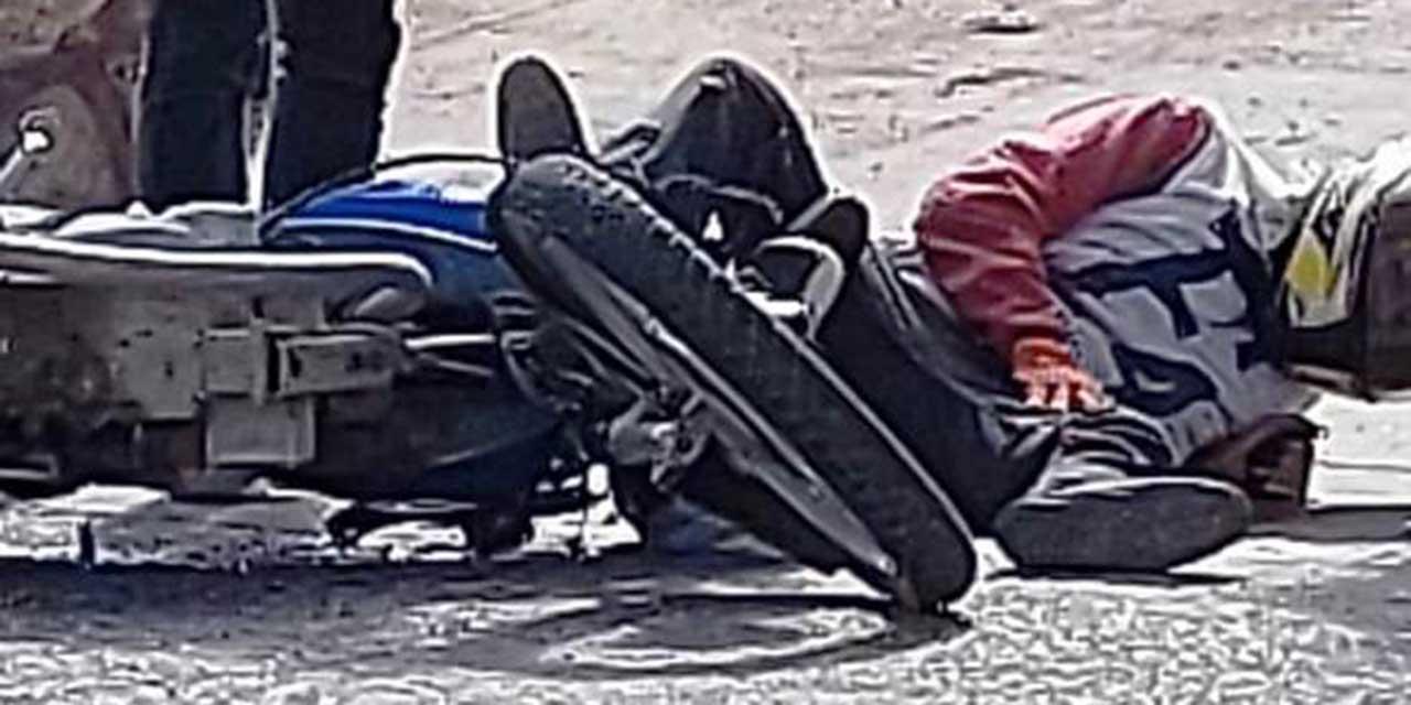 Choque entre motociclistas en Huajuapan | El Imparcial de Oaxaca
