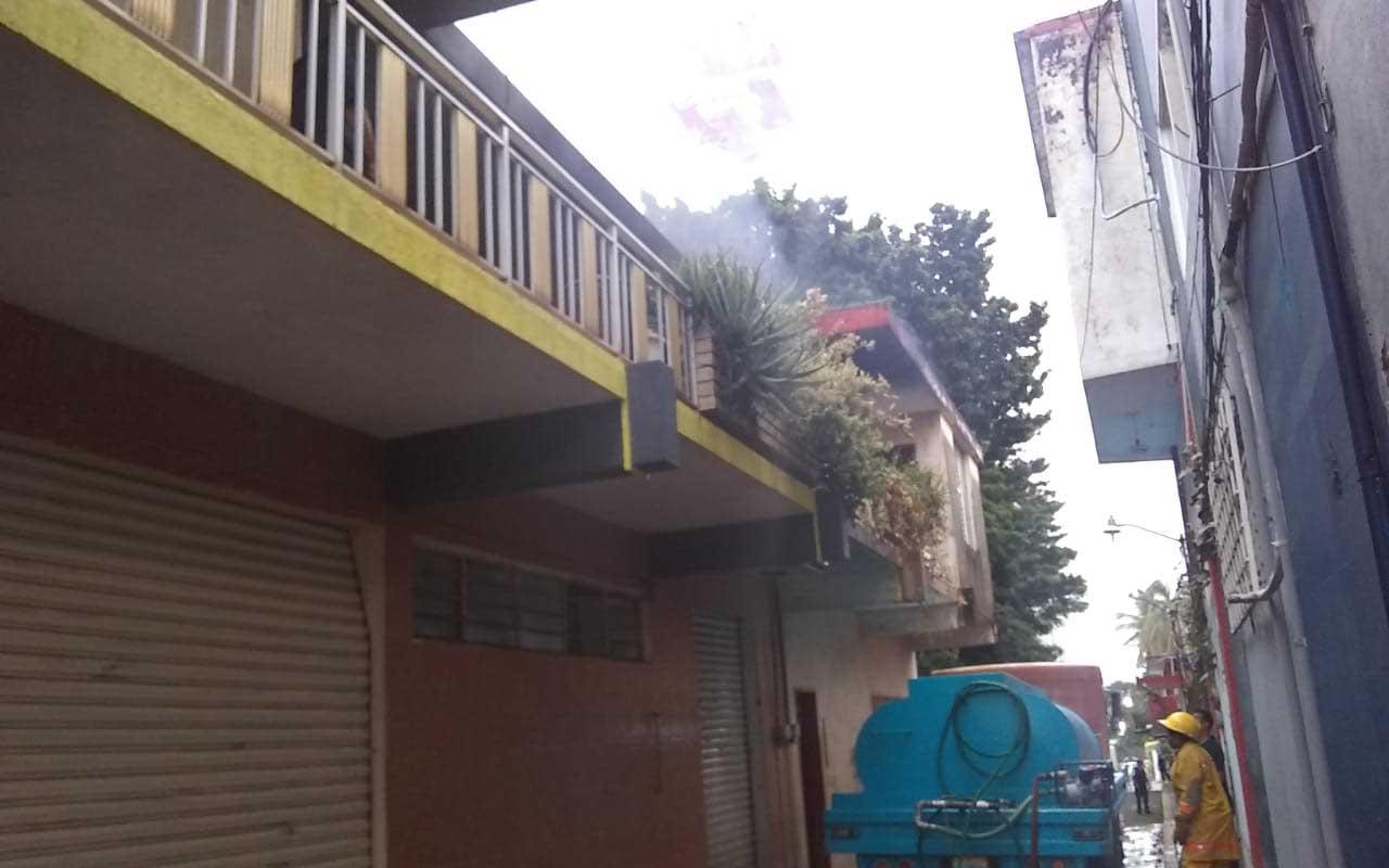 Arde casa habitación   El Imparcial de Oaxaca