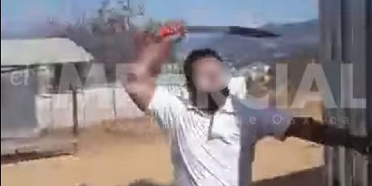 ¡Trata de machetearlos en Cuilápam!   El Imparcial de Oaxaca