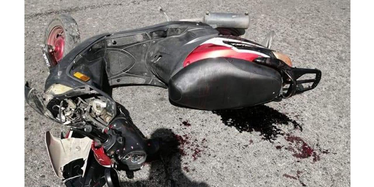 Urbanero atropella a un motociclista | El Imparcial de Oaxaca