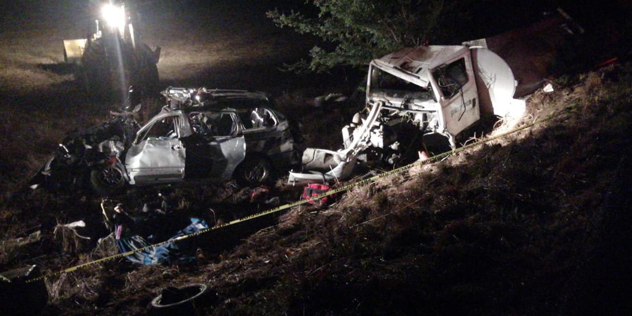Trágico accidente en carretera de Ayoquezco de Aldama | El Imparcial de Oaxaca