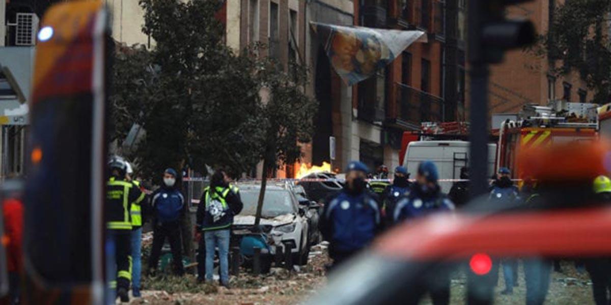 Explosión en un edificio de Madrid deja al menos tres muertos | El Imparcial de Oaxaca