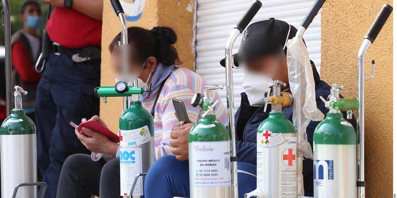 Recarga oxígeno gratis, INFRA mantiene el suministro en público y particular | El Imparcial de Oaxaca