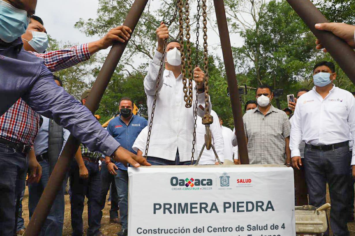 Arranca Murat obras en la Cuenca | El Imparcial de Oaxaca
