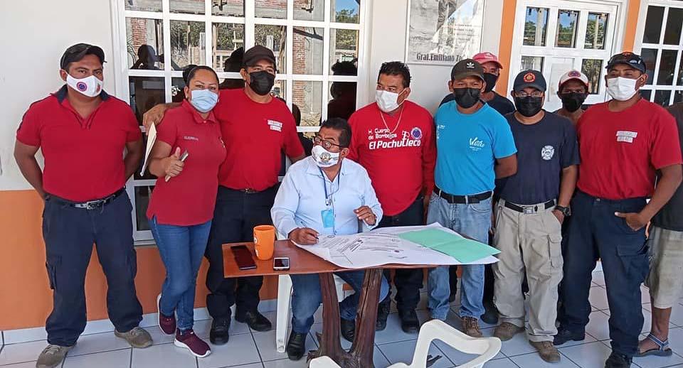 Buscan certeza de predio donde se construirá base de bomberos   El Imparcial de Oaxaca