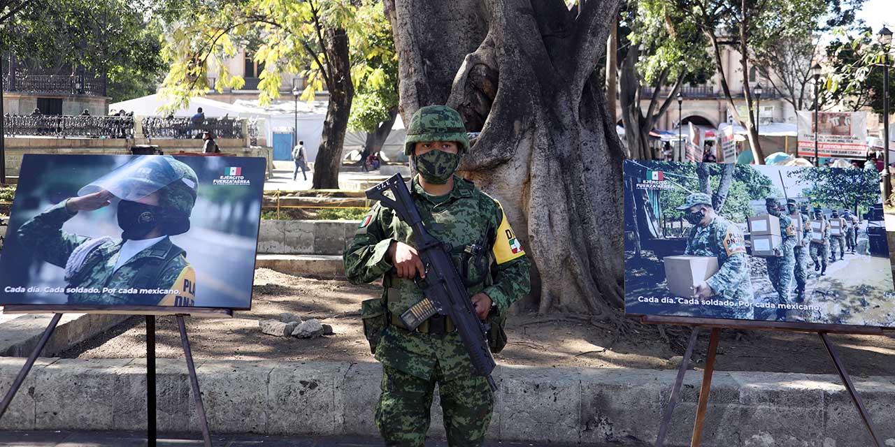 Con fotografías, conmemoran Día del Ejército Mexicano   El Imparcial de Oaxaca