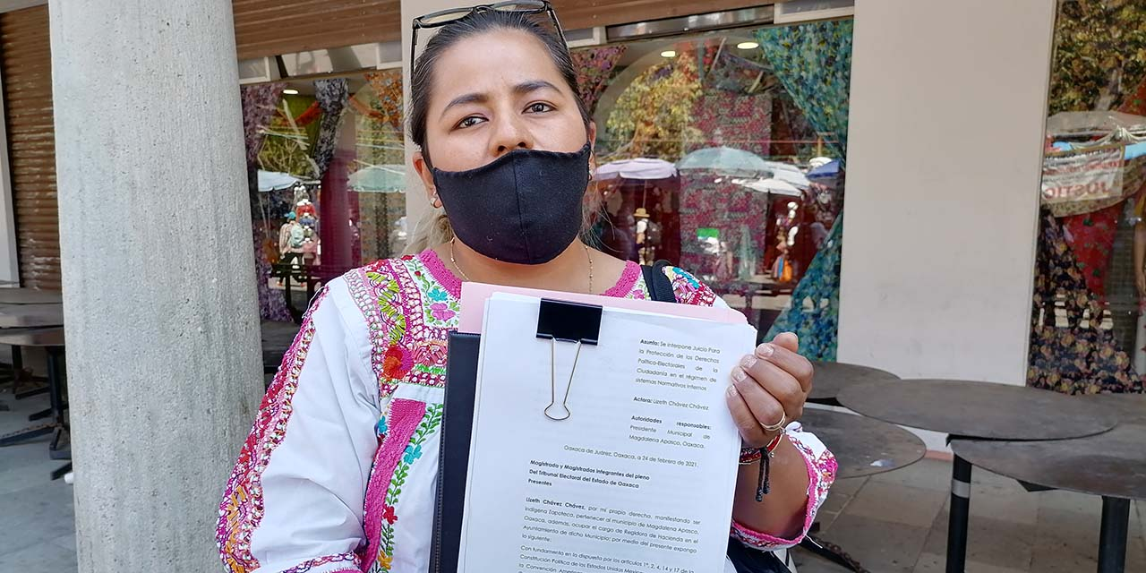 Regidora denuncia a edil por violencia política en Magdalena Apasco | El Imparcial de Oaxaca