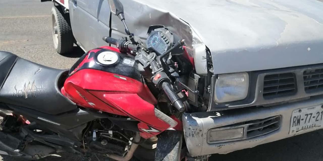 Atropellan a un motociclista con una camioneta en carretera a Puerto Ángel   El Imparcial de Oaxaca