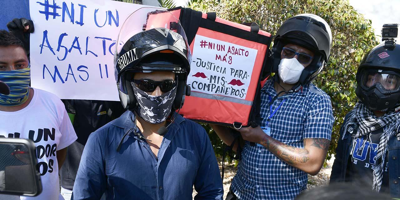Repartidores de comida en Oaxaca se encuentran en riesgo constante por la inseguridad | El Imparcial de Oaxaca