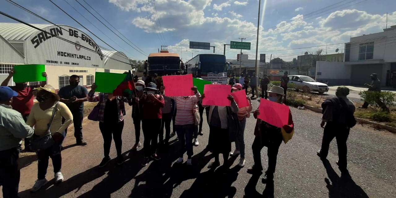 Caravana de triquis se dirige a la CDMX para exigir atención a los acuerdos | El Imparcial de Oaxaca