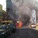 Arde pipa de gas en el mercado de Jamaica