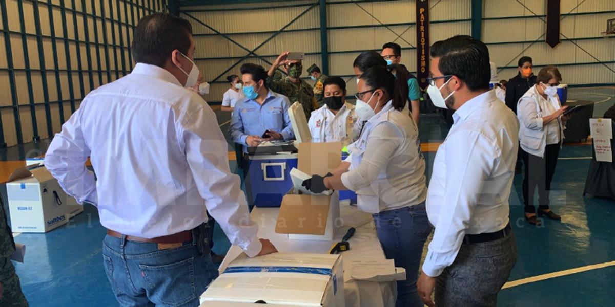 Llegan a Oaxaca vacunas anti covid para segunda aplicación | El Imparcial de Oaxaca