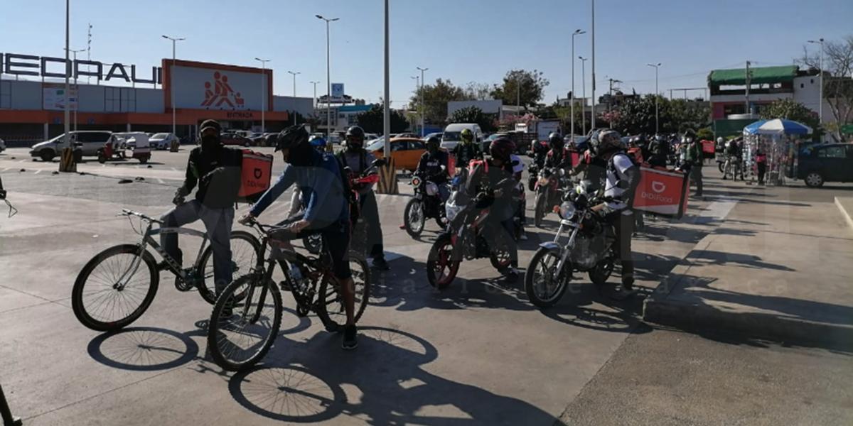 Repartidores en la capital exigen seguridad ante ola de asaltos y accidentes | El Imparcial de Oaxaca