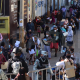 Inicia vacunación en San Antonio de la Cal con largas filas y aglomeración
