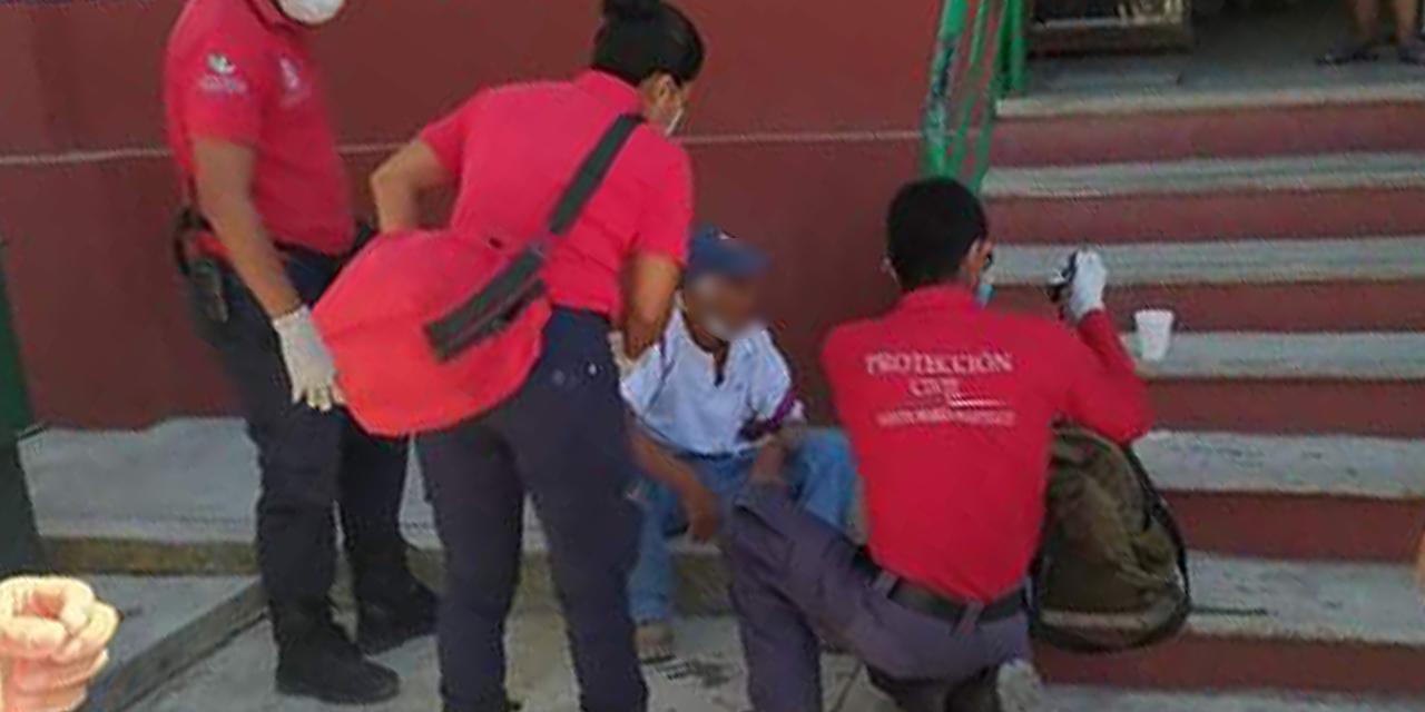 Adulto mayor sale herido tras caer de escaleras en Huatulco   El Imparcial de Oaxaca