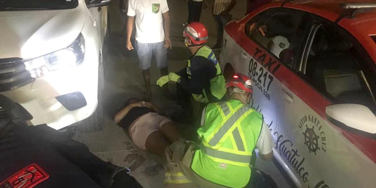 Grave motociclista al ser atropellada en Santa Cruz Huatulco | El Imparcial de Oaxaca