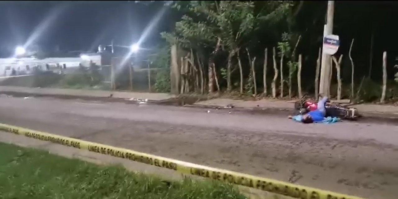 Motociclista muere instantáneamente tras accidente en Tuxtepec | El Imparcial de Oaxaca