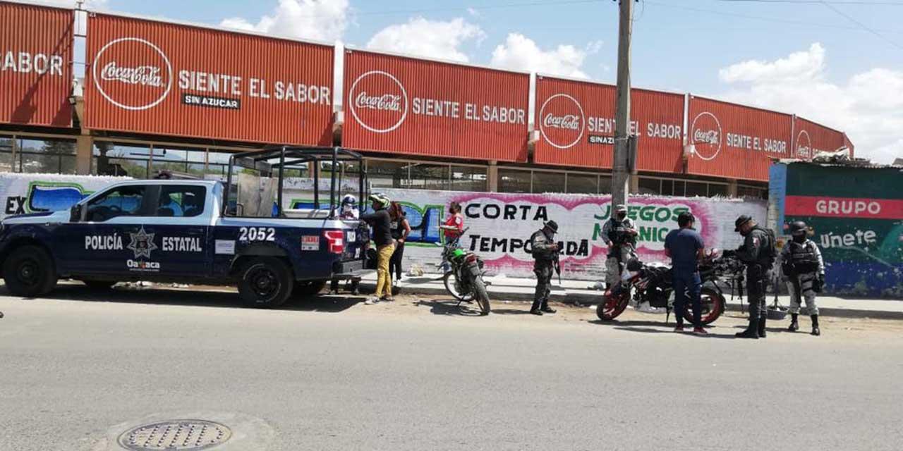 Montan operativo de seguridad en la Central de Abasto   El Imparcial de Oaxaca