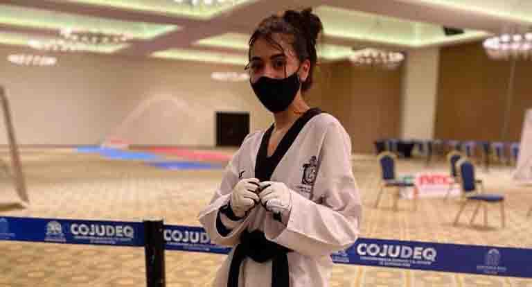 Vania Celorio, se lleva oro en taekwondo | El Imparcial de Oaxaca