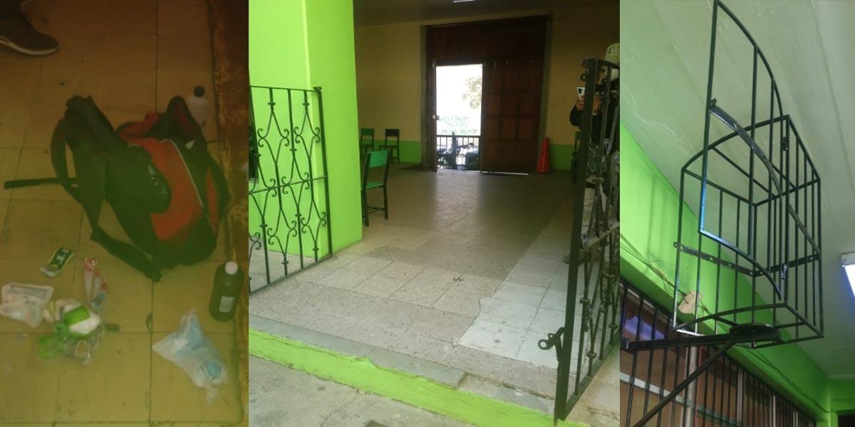 Consuman otro robo a escuela primaria Basilio Rojas, en el Centro Histórico de Oaxaca | El Imparcial de Oaxaca